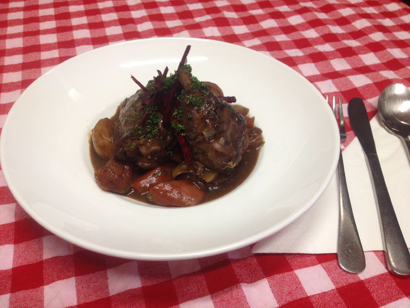 Coq Au Vin - Traditional French Food